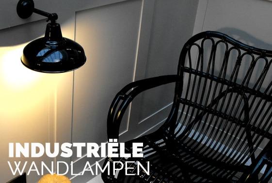 Wandlampen-expert - Industriele wandlampen